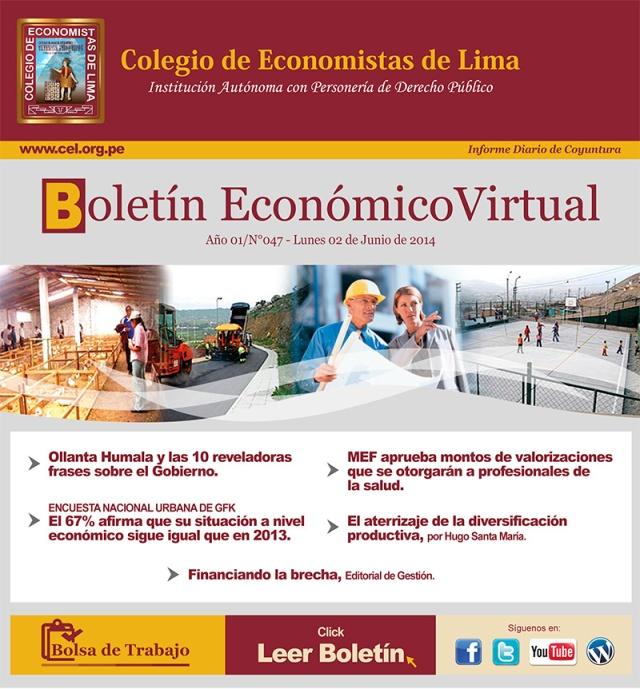 Boletín Económico CEL